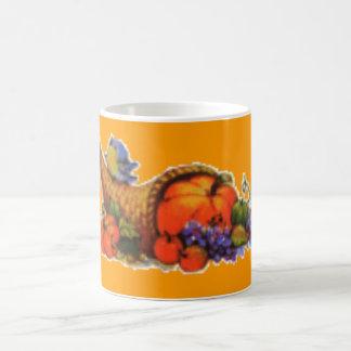 Thanksgiving Cornucopia Coffee Mug