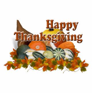 Thanksgiving Cornucopia Acrylic Cut Out
