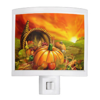 Thanksgiving Cornupocia Night Light