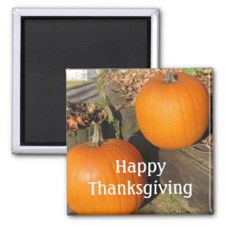 Thanksgiving Country Pumpkins Magnet