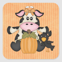 Thanksgiving Cow sticker
