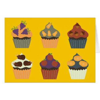 Thanksgiving Cupcakes Card