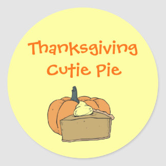 Thanksgiving Cutie Stickers