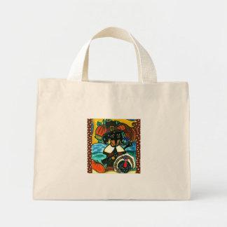 Thanksgiving Dachshund Mini Tote Bag