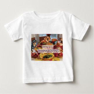 Thanksgiving Dachshunds Baby T-Shirt