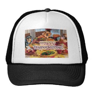 Thanksgiving Dachshunds Trucker Hat