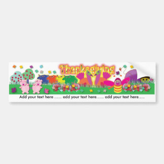 Thanksgiving Day Bumper Stickers