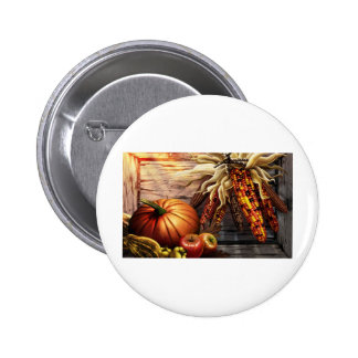 Thanksgiving Day Button
