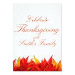 "Thanksgiving Day Invitation Card 5"" X 7"" Invitation Card"
