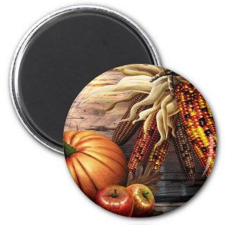 Thanksgiving Day 2 Inch Round Magnet