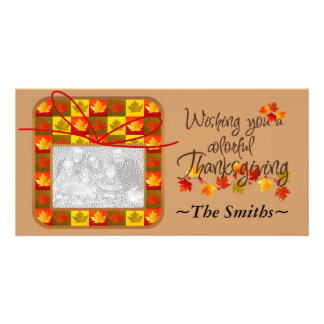 Thanksgiving Day Personalized Card