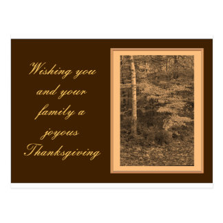 Thanksgiving Day Photo Card