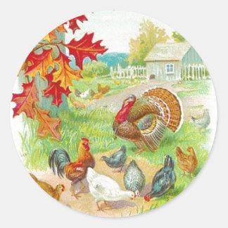 Thanksgiving Day Sticker