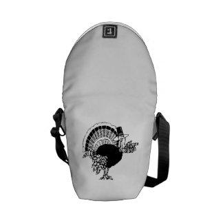 Thanksgiving Day Turkey Messenger Bag