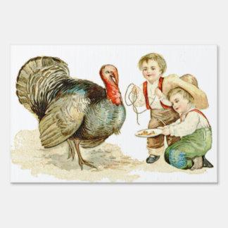 Thanksgiving Day Yard Sign