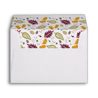 Thanksgiving Dinner Envelopes