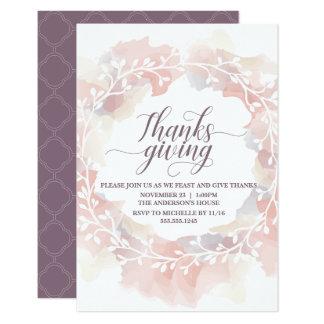 Thanksgiving Dinner Invitation - Customize