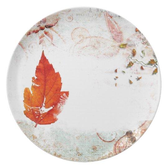thanksgiving dinner plate. plate