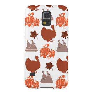 Thanksgiving Dinner Turkey Pumpkin Fall Harvest Case For Galaxy S5