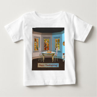 Thanksgiving Dinning Room with Picture Window Shirt