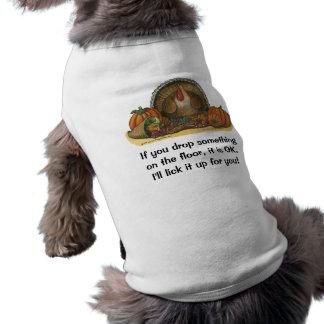 Thanksgiving Dog Shirt - Turkey