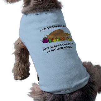 Thanksgiving Dog Sweater T-Shirt