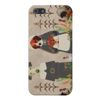 Thanksgiving Dogs Case For iPhone SE/5/5s
