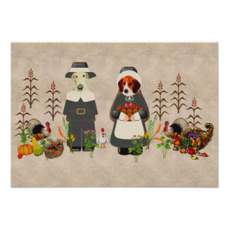 Thanksgiving Dogs Invitations