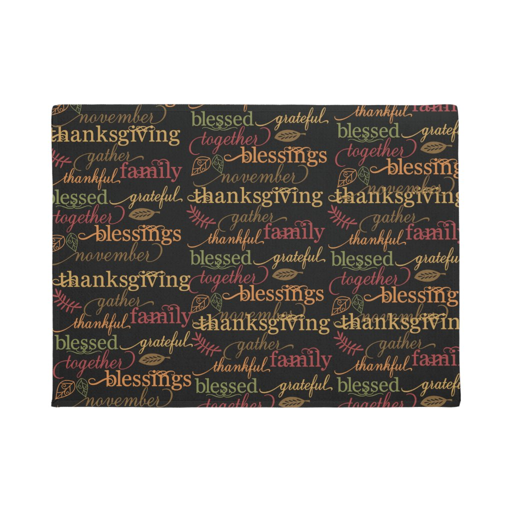 Thanksgiving Door Mat