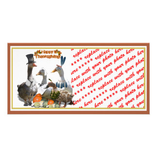 Thanksgiving Ducks Card