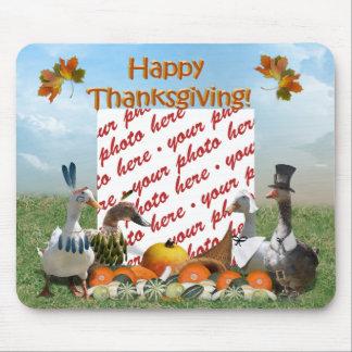 Thanksgiving Ducks Mouse Mat