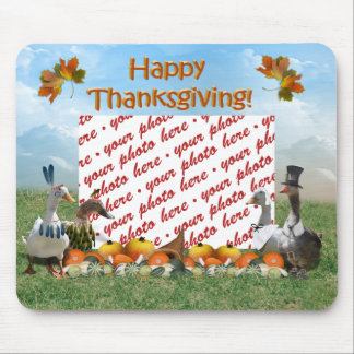 Thanksgiving Ducks Mouse Pad