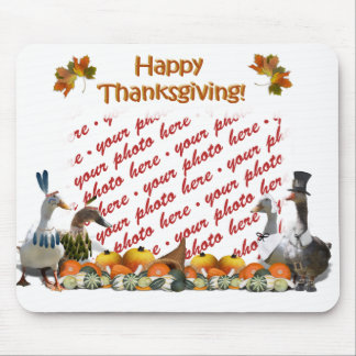 Thanksgiving Ducks Mouse Pads