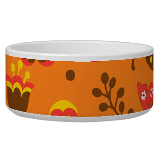 Thanksgiving Fall Autumn Pattern Bowl