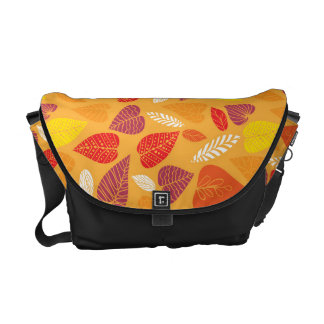 Thanksgiving Fall Autumn Pattern Courier Bag