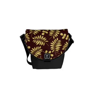 Thanksgiving Fall Autumn Pattern Courier Bags
