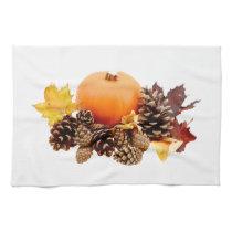 Thanksgiving / fall still life hand towel