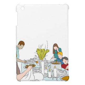 Thanksgiving Family Buffet Table iPad Mini Cover