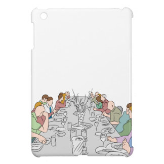 Thanksgiving Family Dinner Table iPad Mini Covers
