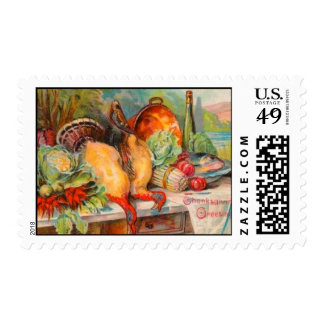 Thanksgiving Feast Stamps