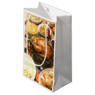 Thanksgiving Feast Small Gift Bag