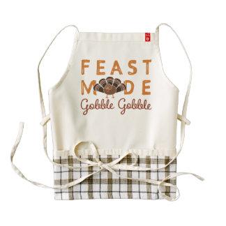 Thanksgiving Feast Zazzle HEART Apron