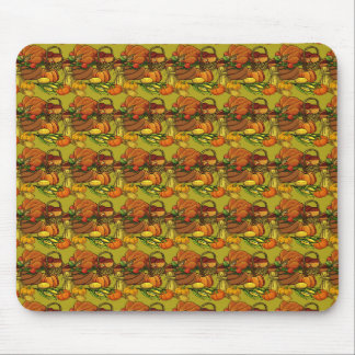 Thanksgiving Food Mouse Pad