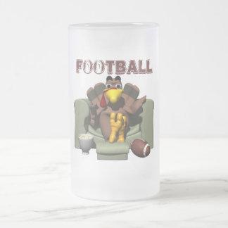Thanksgiving Football Beer Mug