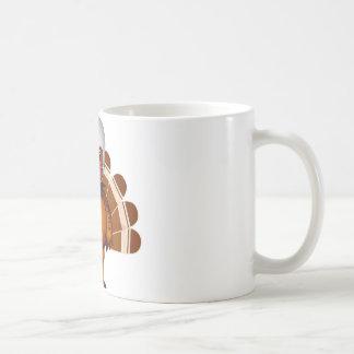 Thanksgiving Football Classic White Coffee Mug