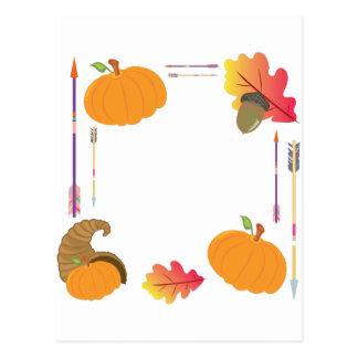 Thanksgiving Frame Postcard