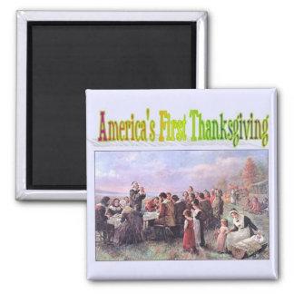 Thanksgiving Fridge Magnet