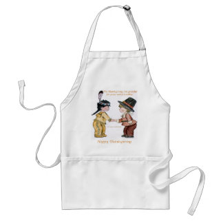 Thanksgiving Friendship and Peace Adult Apron