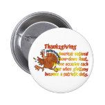 Thanksgiving Fun Button