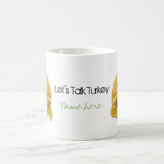 Thanksgiving - Give Thanks Coffee Mug